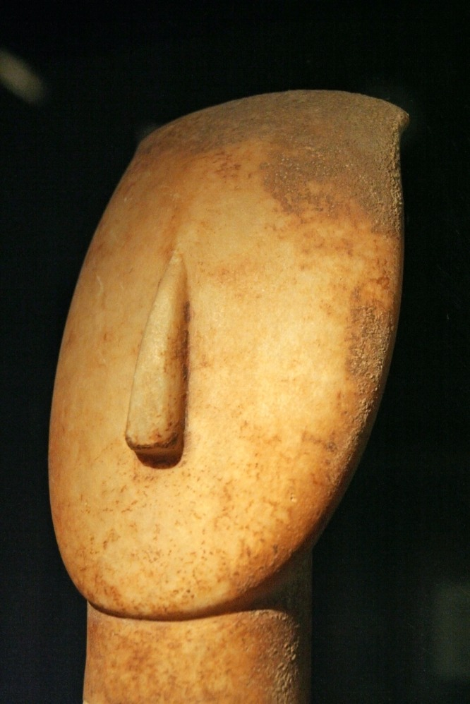 Figurine at the Museum of Cycladic Art